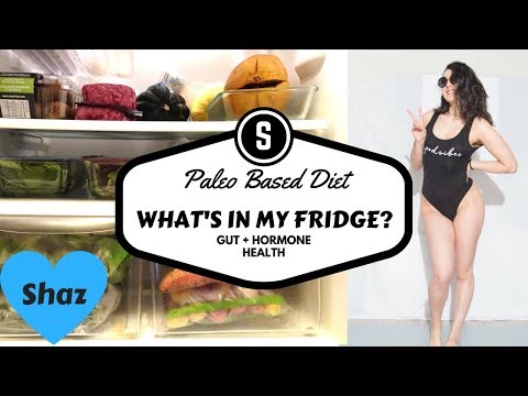 WHAT'S IN MY FRIDGE - PALEO/CANDIDA | My Gut + Hormone Health Staples