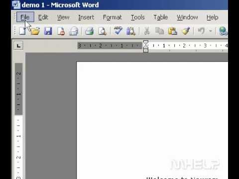Microsoft Office Word 2003 Print a range of pages across sections