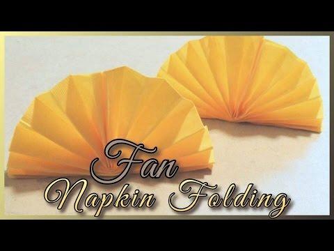 Fan Napkin Folding
