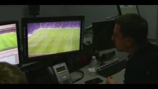 Jaime Carraghar and Gary Neville in Gary Neville Documentary
