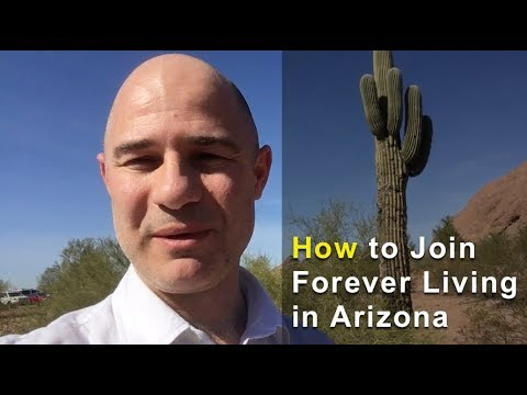 Register with Forever Living Products Phoenix Arizona
