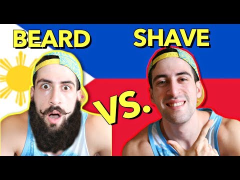 SHAVING My Beard ✰Before & After✰ 🇵🇭 Funny SHAVING Moments 😂
