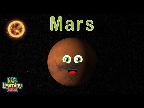 Mars Song/Planet Mars Song for Kids/Mars Song for Kids