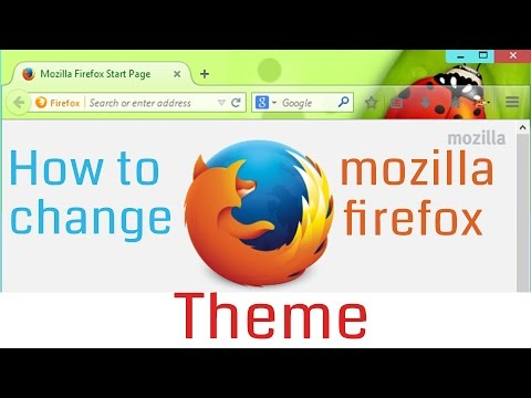 How to Change Theme in Mozilla Firefox Browser