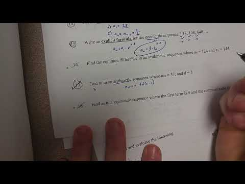 Find a1 in an arithmetic sequence (#17)
