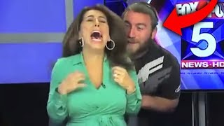 Top 10 Funniest HALLOWEEN FAILS ON LIVE TV! (Embarrassing & Funny Moments On Live TV)