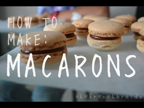 {Rae Bakes} How To Make: Macarons!