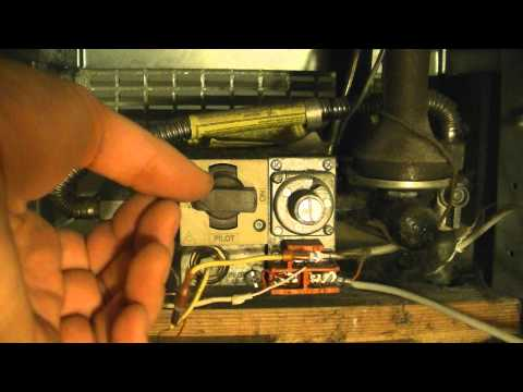 How To Light The Pilot Light On A Gas Heater
