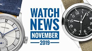 A Month In Watches: November 2019 | WATCH CHRONICLER
