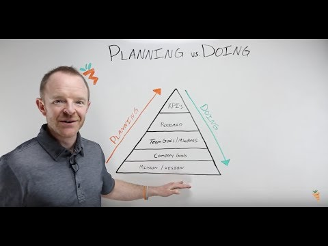 Planning Versus Doing | Why You Need a Bit of Both When Building a Company