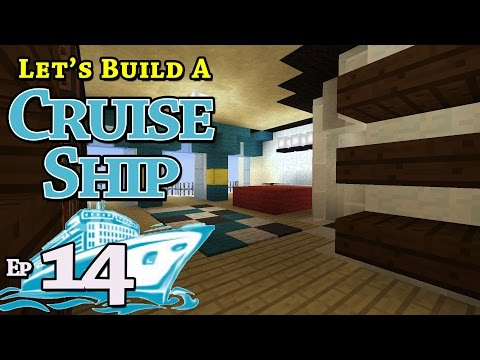 How To Build A Cruise Ship :: Minecraft :: E14 :: Z One N Only