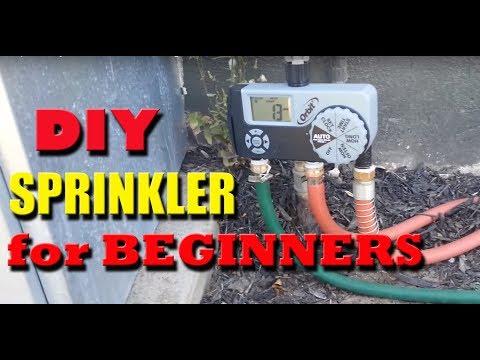 DIY Sprinkler System - Quick install and Beginner level