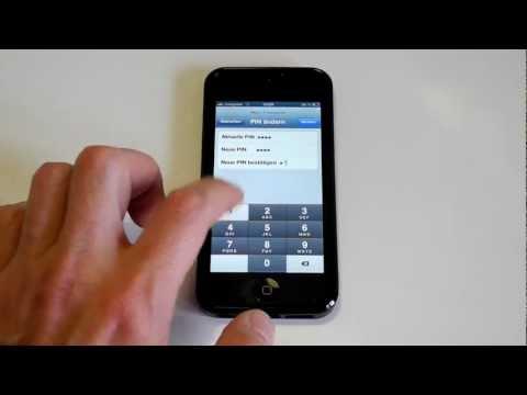 iPhone 5 - SIM PIN ändern - Neue SIM PIN