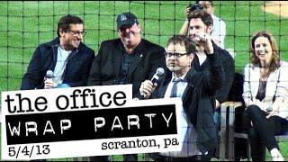 'THE OFFICE' Wrap Party Farewell Celebration: PNC Field, Scranton 5/4/2013 - FULL CELEBRATION in HD