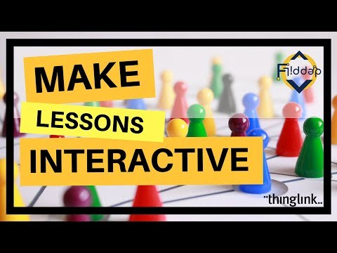 Interactive and more engaging lessons with Thinglink