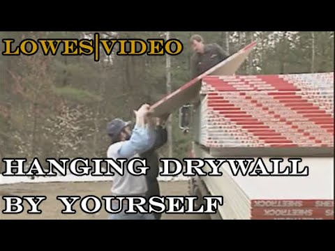 How to Hang Drywall and Mud (60 min)