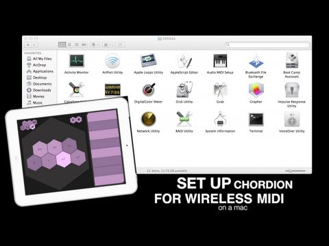 Use Chordion iPad App as a MIDI Controller for your DAW