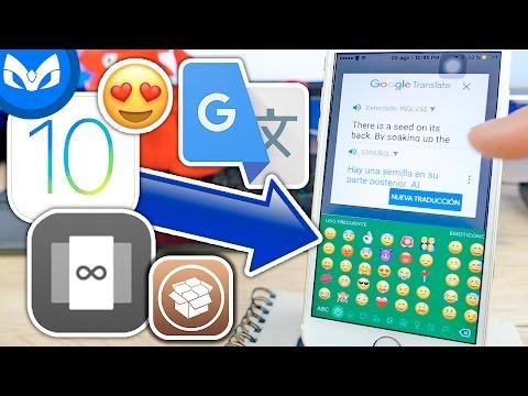 Tweaks EPICOS REAL MULTITASKING iOS 10 EMOJIS iOS CARGA RAPIDA #MartesTweaks5