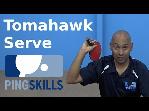 Tomahawk Serve Preview | Table Tennis | PingSkills