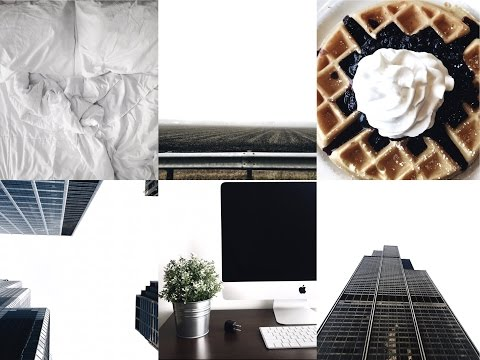 White Theme - How I Edit My Instagram Photos