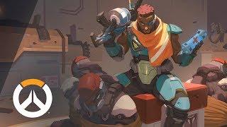 [NEW HERO – NOW PLAYABLE] Baptiste Origin Story   Overwatch