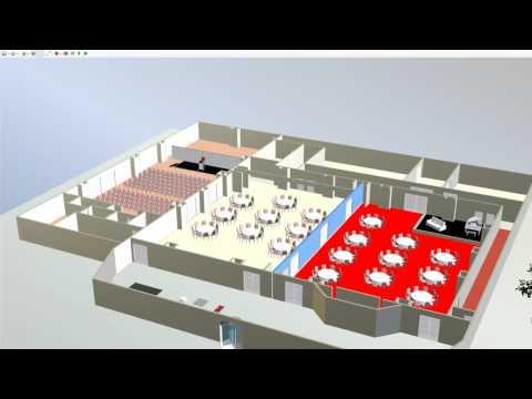 Microsoft Visio 3D Module - Event Floor Plan Software