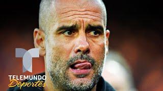 Pep Guardiola le un golpe bajo a la afición del Manchester City   Telemundo Deportes