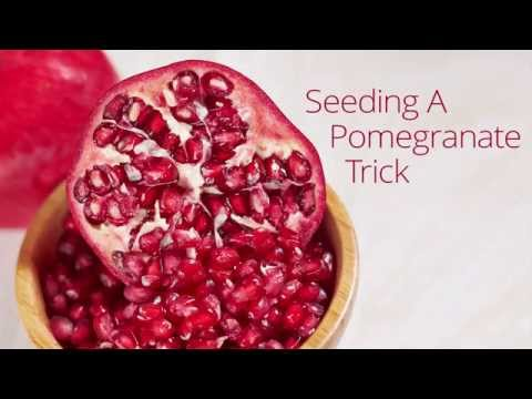 The Best Way To Seed a Pomegranate (No Water Method) -  Quick Trick
