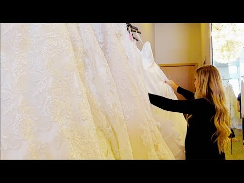 First Time Wedding Dress Shopping | Getting Married At 18