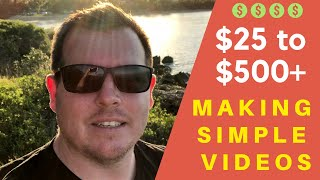 How To Make $100 a Day Or More Making Simple Videos...