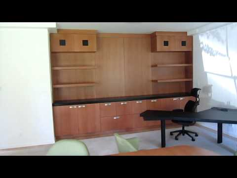 Atherton Office and Floating vanities