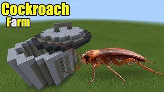 How to Make a Cockroach Farm | Minecraft PE