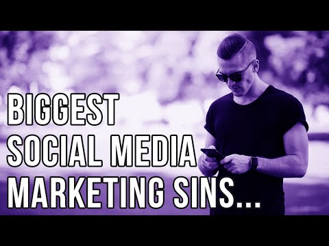 The Biggest Mistake People Make With Social Media Marketing