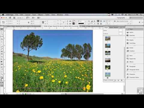 Adobe InDesign CS6 Tutorials | Intro to Pages in InDesign | InfiniteSkills