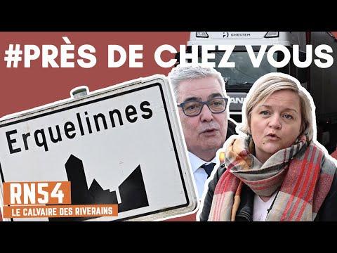 PRES DE CHEZ VOUS : Erquelinnes et la RN54, le calvaire des riverains