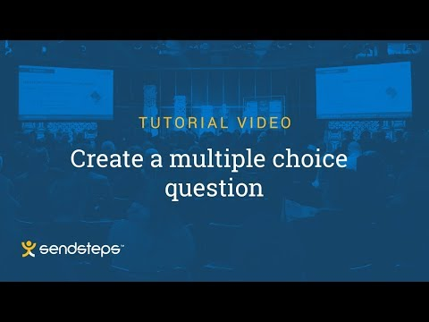Create a Multiple Choice Question