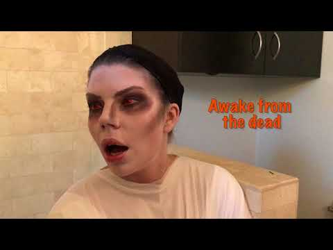 Marghost Makeup Tutorial