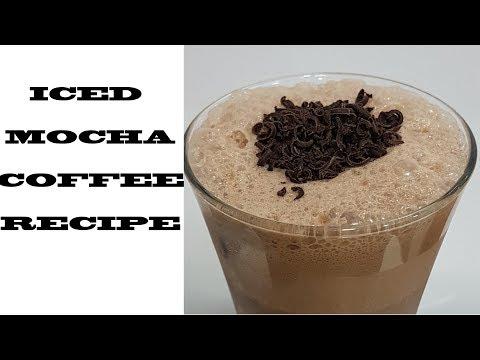Cold Coffee Recipe How To Make Iced Mocha Coffee कोल्ड मोका कॉफ़ी रेसिपी