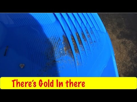 Getting the Gold Sluice Ready