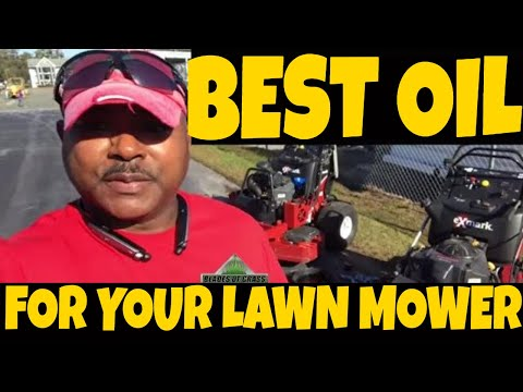 Best lawn mower oil, Synthetic oil Vs Conventional oil (Experts weigh in commenting)