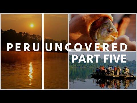 Bit by a Piranha in Peru! Amazon Jungle madness! - Part Five
