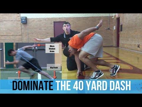 40 Yard Dash Starts | Improve Your Speed | How To Run The 40 Yard Dash