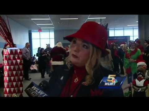 Delta takes sick kids on flight to North Pole