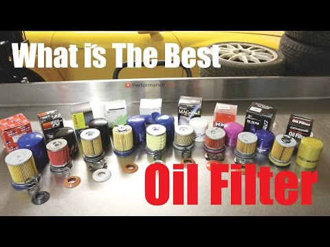 I Cut Them All Up! Best Oil Filter Available Right Now? - PerformanceCars