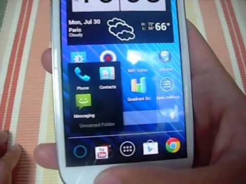 how to change icons on the samsung galaxy s3