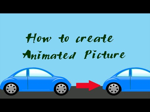 How to create Animated Pictures or gif images in photoshop