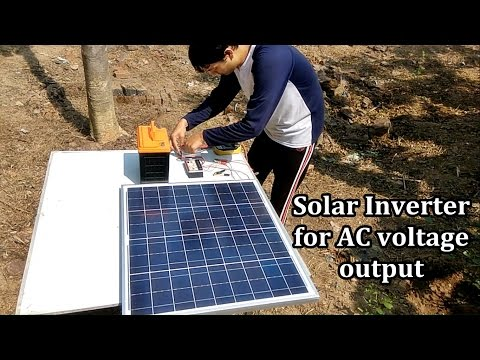 How to make a Solar Inverter in 10 minutes | No skill required