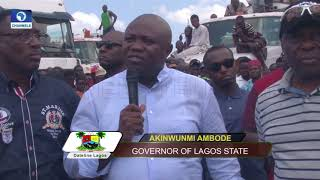 Ambode Flags Off Bola Tinubu Truck Terminal To Solve Apapa Traffic Congestion  Dateline Lagos 