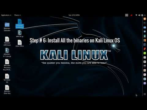 How to Access Windows Bitlocker Drive In Kali Linux OS Using Dislocker