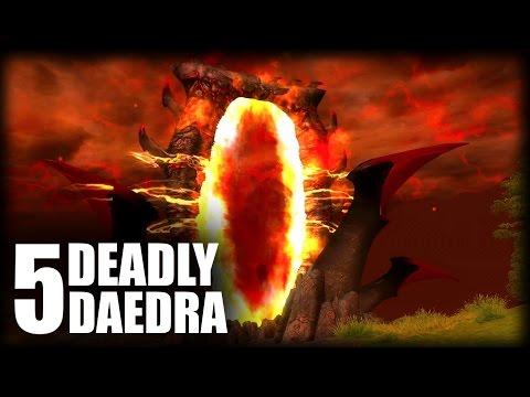 Skyrim - 5 Deadly Daedra - Elder Scrolls Lore